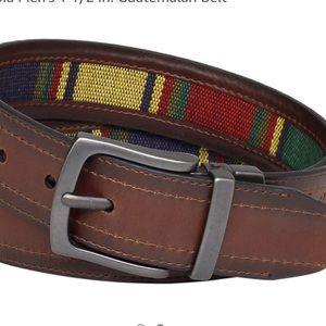 Columbia Leather 1 1/2 Guatemalan men's belt 38